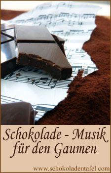 Blogevent: Schokolade - Musik für den Gaumen